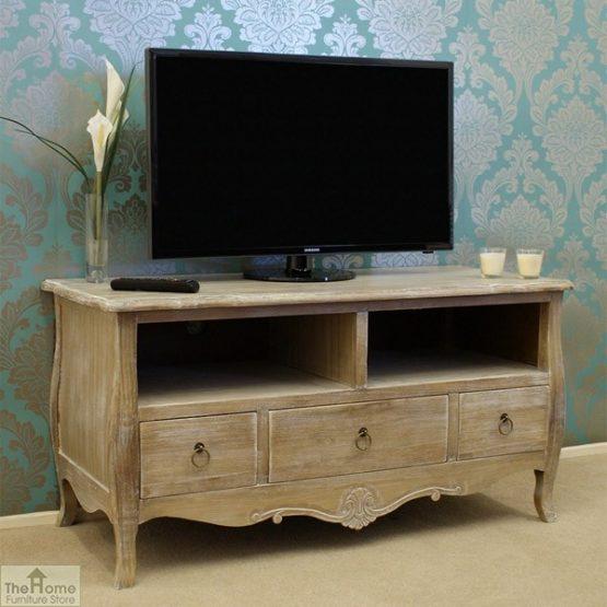 Casamoré Bordeaux 3 Drawer 2 Shelf TV Unit_1