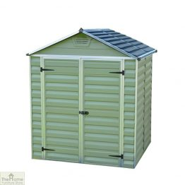 Green 10 x 6 Plastic Shed