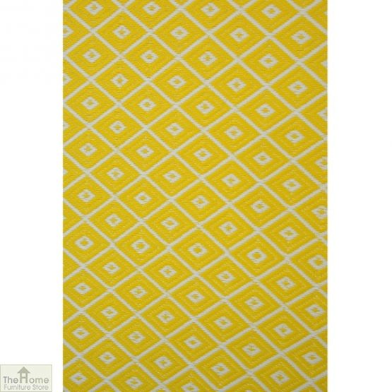 Eco-Friendly Reversible Yellow Rug_2