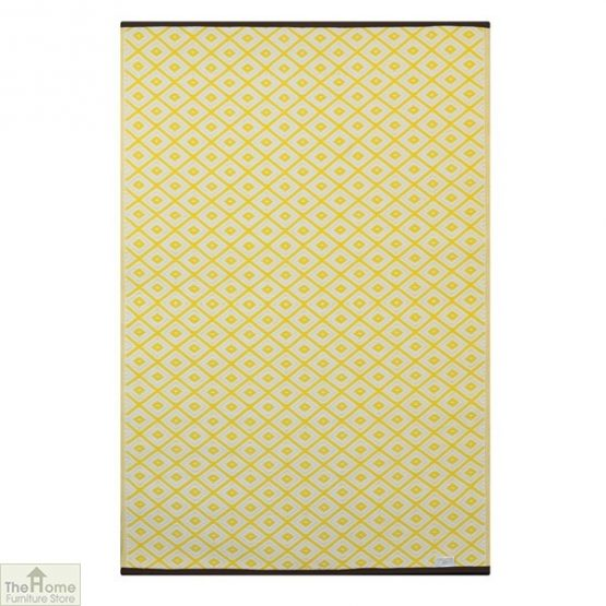 Eco-Friendly Reversible Yellow Rug_3