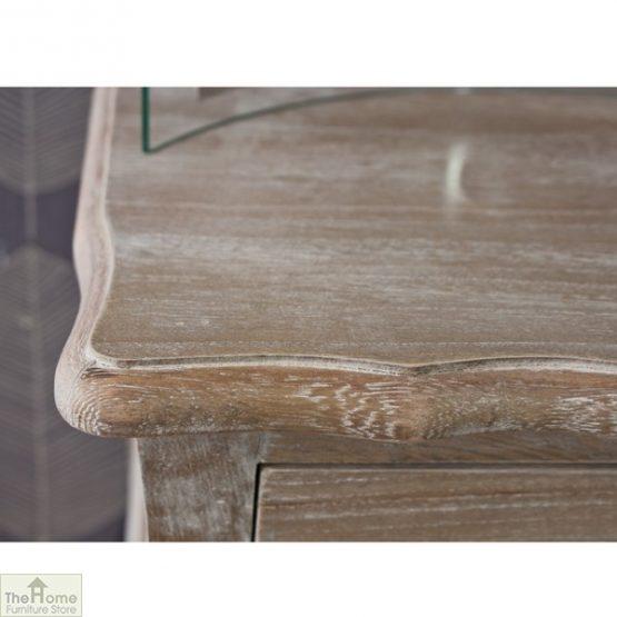 Casamoré Bordeaux 1 drawer lamp table_7