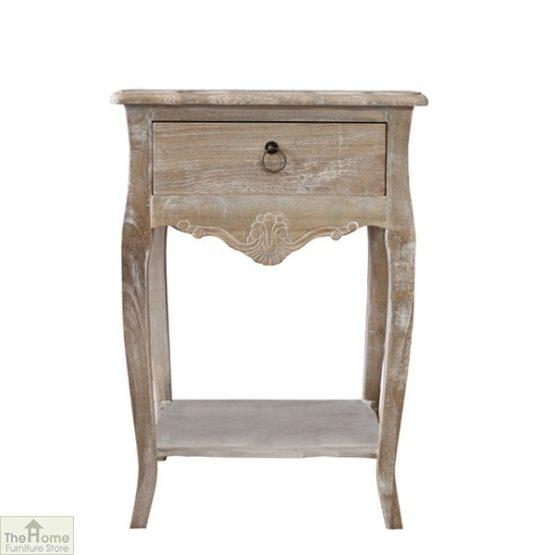 Casamoré Bordeaux 1 drawer lamp table