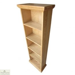 Farmhouse Oak CD DVD Rack