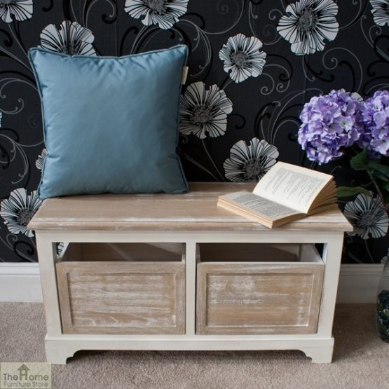 Cotswold 2 Seat Storage Bench_2