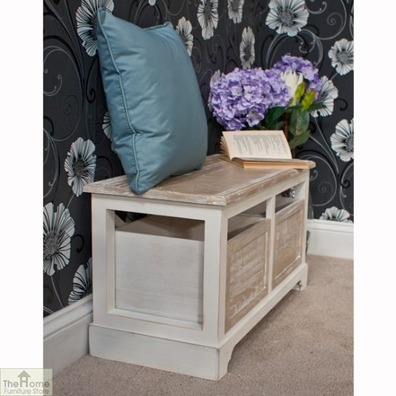 Cotswold 2 Seat Storage Bench_4