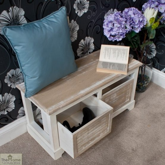 Cotswold 2 Seat Storage Bench_6