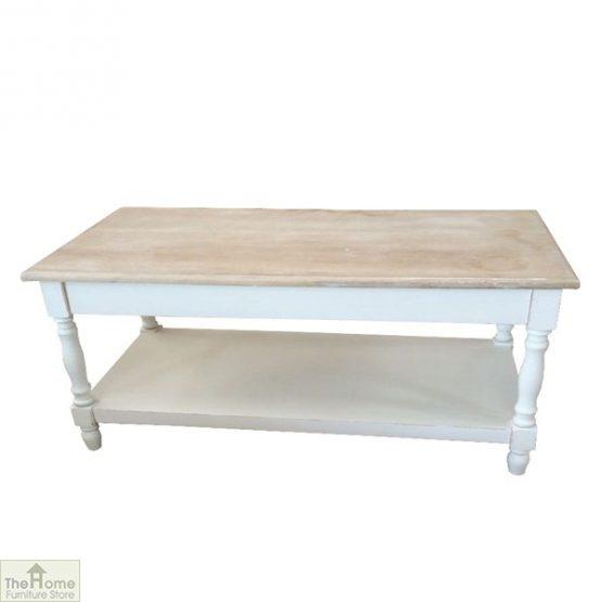 Cotswold 2 Shelf Coffee Table