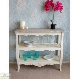 Devon Shabby Chic 2 Shelf Console Table_1
