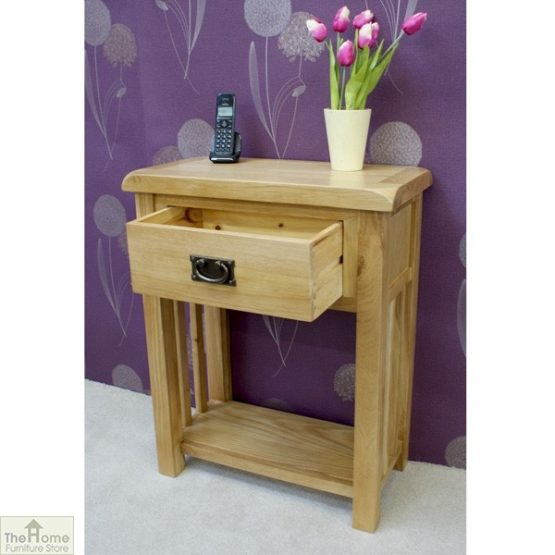 Farmhouse 1 Drawer Telephone Table_3