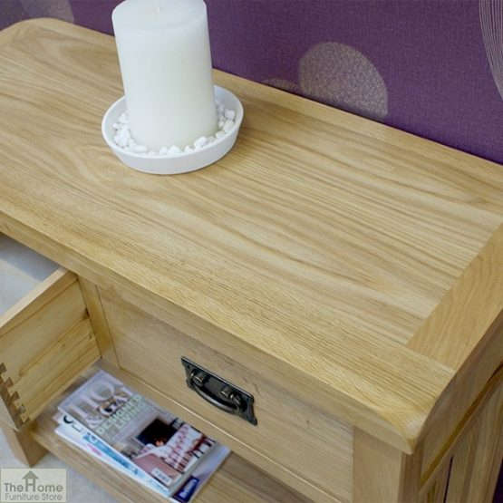 Farmhouse 2 Drawer Console Table_5