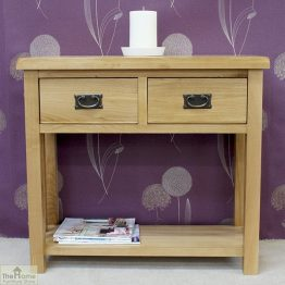 Farmhouse 2 Drawer Console Table_1