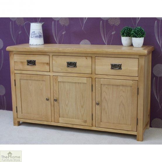 Farmhouse 3 Drawer 3 Door Sideboard_2