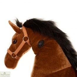 Ride On Horse Toy For Children Brown_1