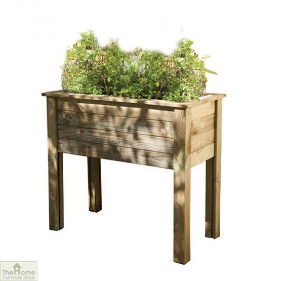Bamburgh Wood Planter Table