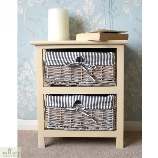 Selsey 2 Drawer Wicker Storage Unit_1