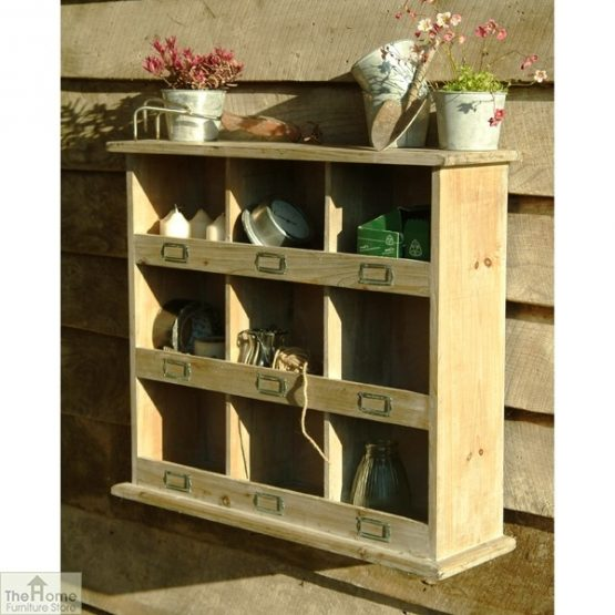 Wooden Storage Shelving Wall Unit_1