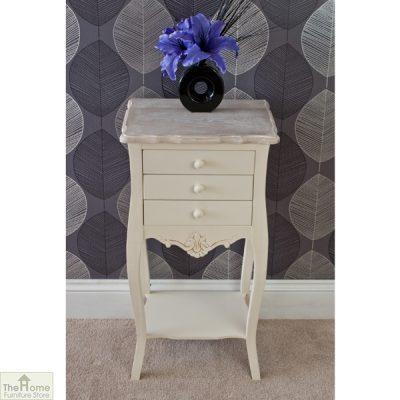 Devon 3 Drawer Bedside Table_3