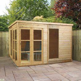 Wooden Garden Room_1