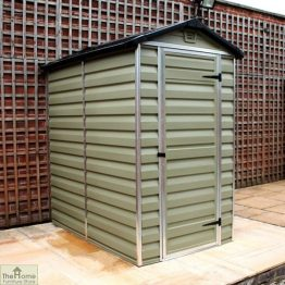 Green 6 x 4 Plastic Shed_1