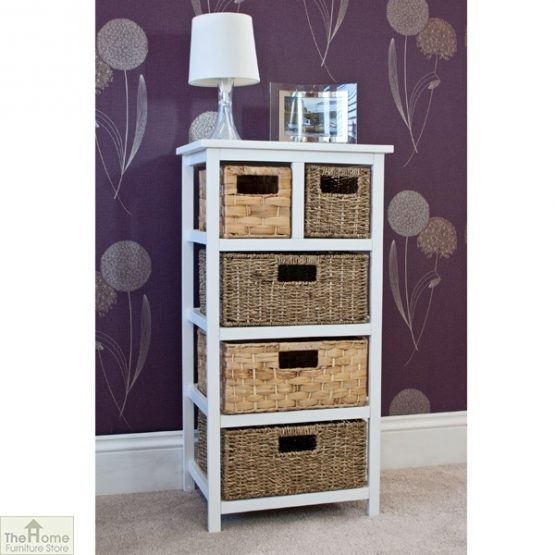 Camber Natural 5 Drawer Tallboy Unit_2