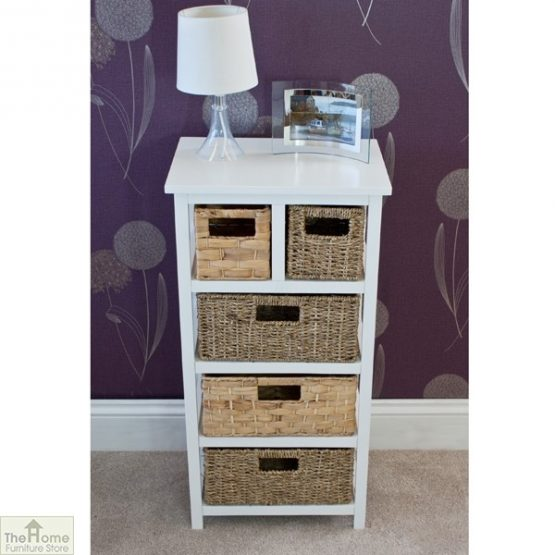 Camber Natural 5 Drawer Tallboy Unit_3