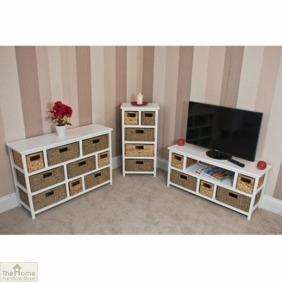 Camber Natural 5 Drawer Tallboy Unit_8
