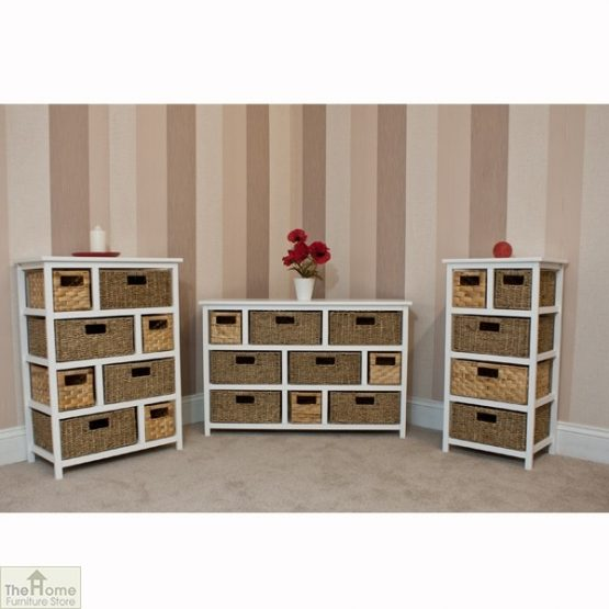 Camber Natural 5 Drawer Tallboy Unit_7