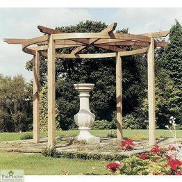 Bramblecombe Wooden Garden Pergola_1