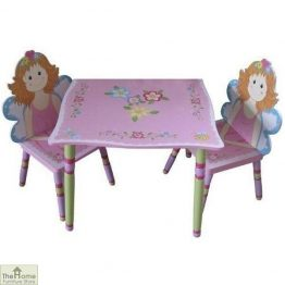 Childrens Fairy Table & Chairs Set