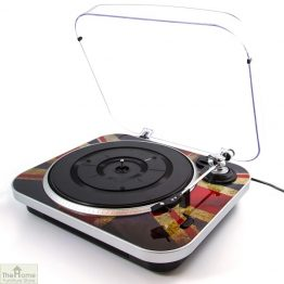 Union Jack Vinyl Turntable