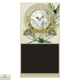 Olive Design Wall Clock Chalkboard