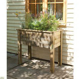 Bamburgh Wood Planter Table_1