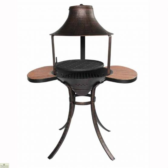 Medium Bronze Fire Bowl BBQ