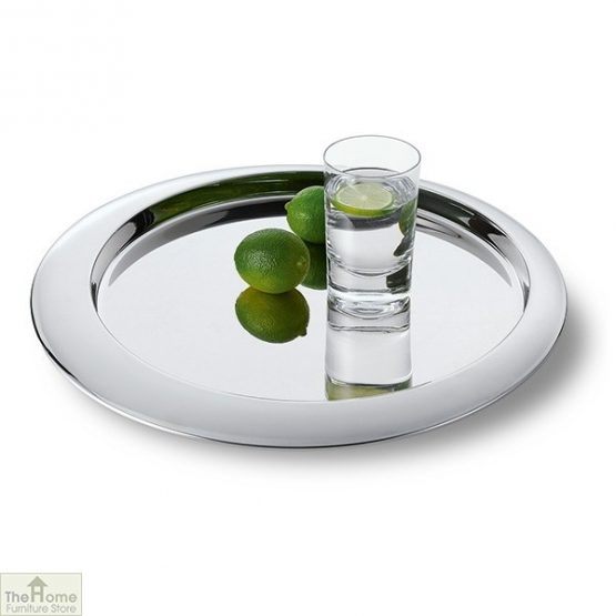 Polished Round Serving Tray_1