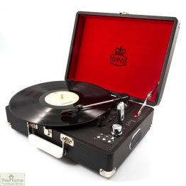 Portable Vintage Case Record Player