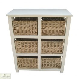 Gloucester 6 Drawer Storage Unit