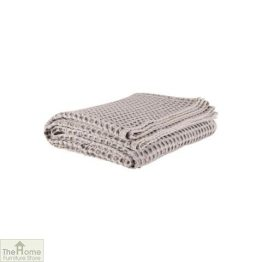 Cotton Waffle Weave Throw