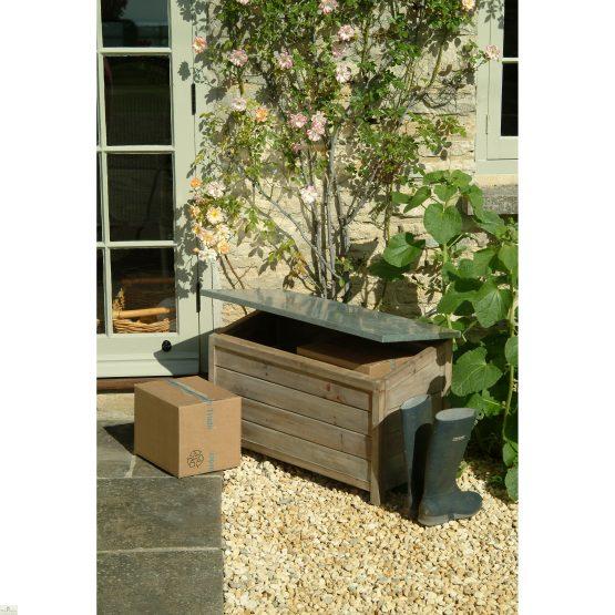 Outdoor Wooden Storage Box Unit_2
