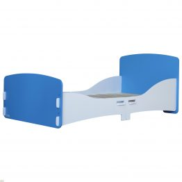 Junior Bed Frame Blue White