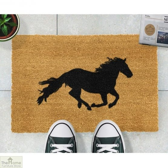 Horse Silhouette Doormat_2