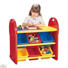 Childrens 6 Bin Storage Organiser