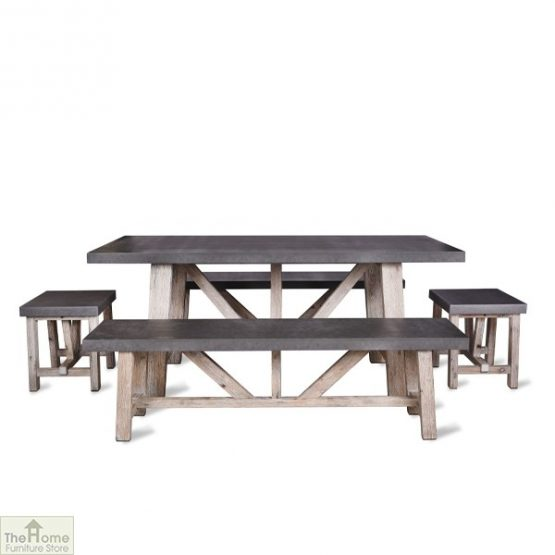 Small Bench Dining Set