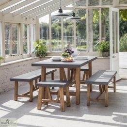 Small Bench Dining Set_1