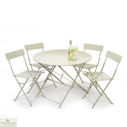 Large Round 4 Seater Dining Set