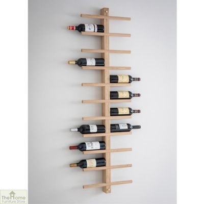 Raw Oak Wine Rack_1
