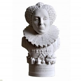 Elizabeth I Bust Ornament