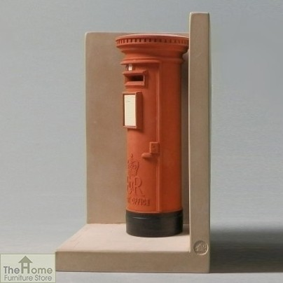 Telephone and Post Box Bookends_4