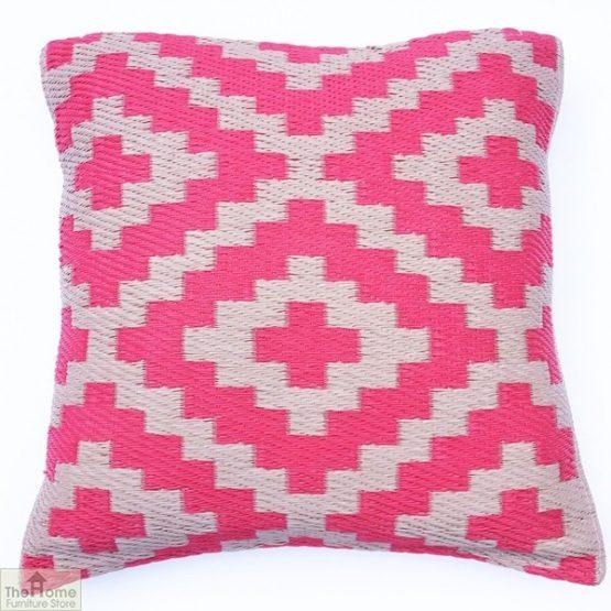 Pink and Cream Cushion_1