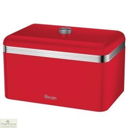 Red Retro Bread Bin