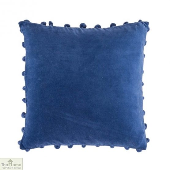 Blue Velvet Cushion Cover